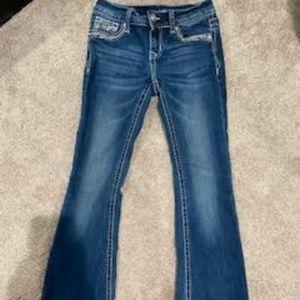 Grace in LA bootcut girls jeans